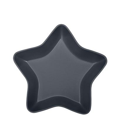 Keramická mísa STAR 34.5 cm tm.šedá_0