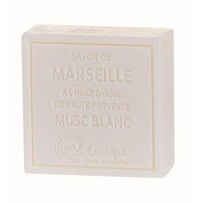 Marseillské mýdlo White musk 100g_0