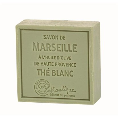Marseillské mýdlo White tea 100g_0