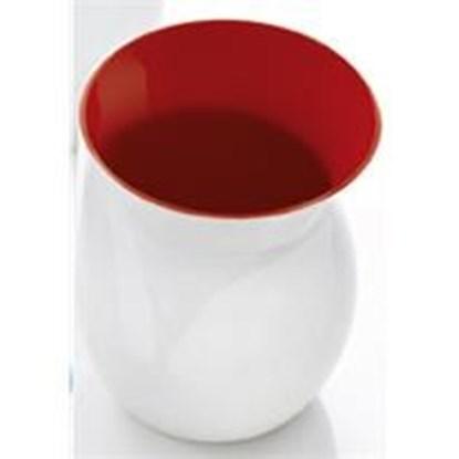 Váza BELLA M - červená_0