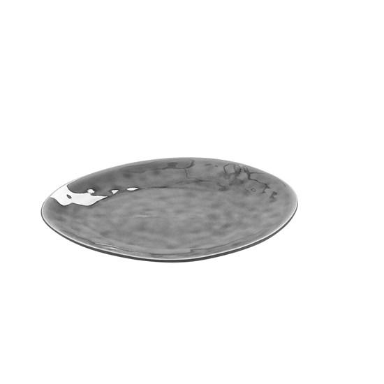 Talíř mělký 24,5 cm šedý_0