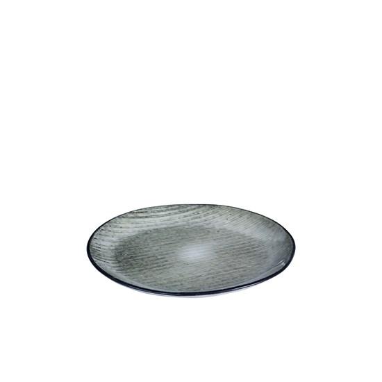 Dezertní talíř NORDIC SEA šedý_0