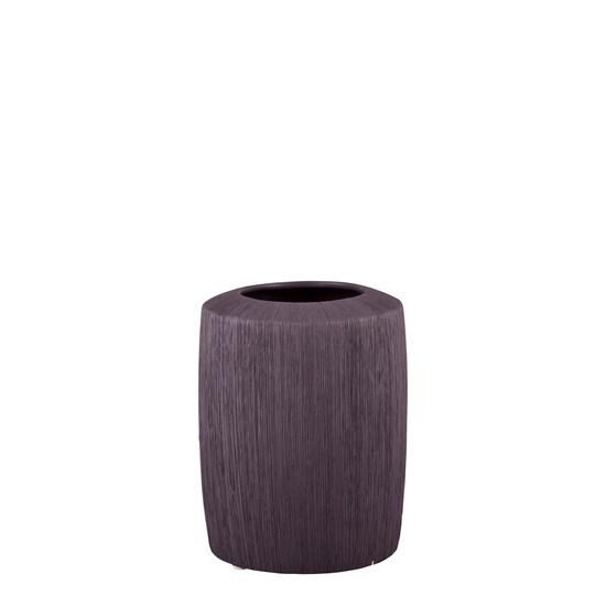 Váza TULLE 15 cm hnědomodrá_0