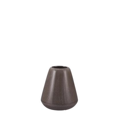 Váza VICA 14 cm hnědošedá_0