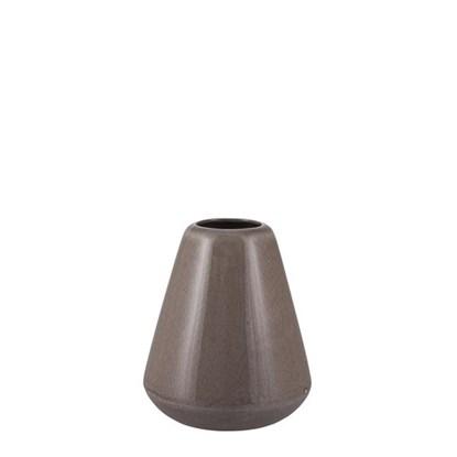 Váza VICA 18 cm hnědošedá_0