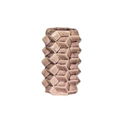 Váza 3D 20 cm růžová_0