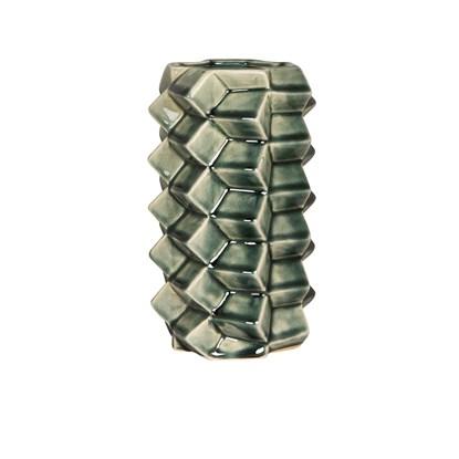 Váza 3D 22 cm zelená_0