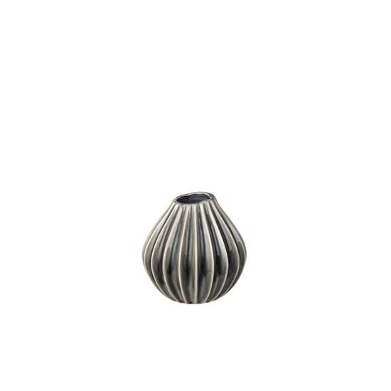 Váza WIDE 15 cm kouřová_0