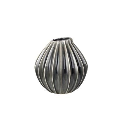 Váza WIDE 25 cm kouřová_0