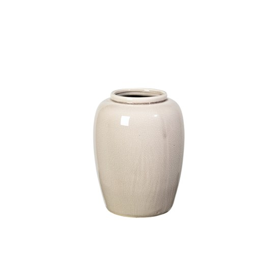Váza CRACKLE 20 cm šedá_0
