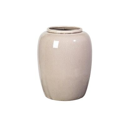 Váza CRACKLE 25,5 cm šedá_0