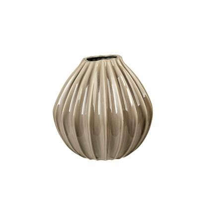 Váza WIDE 30 cm šedohnědá_0