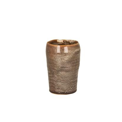 Váza NEW ALMA 14 cm hnědá_0