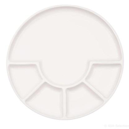 Talíř FONDUE 24 cm bílý_1