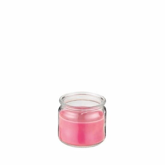 Svíčka ve skle DH 22h červená_0