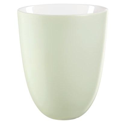 Váza OVALE 20 cm zelinkavá_0