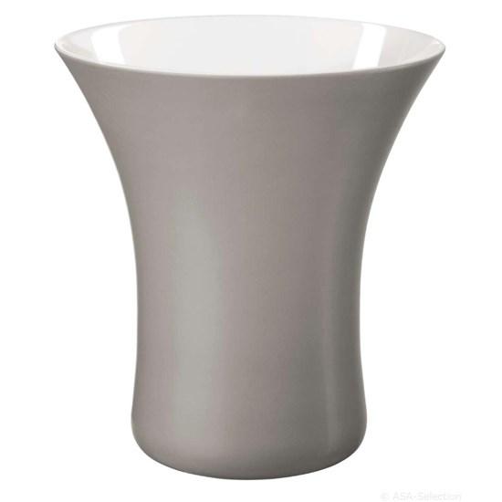 Váza VASO 17 cm šedá_0