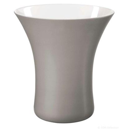 Váza VASO 22 cm šedá_0