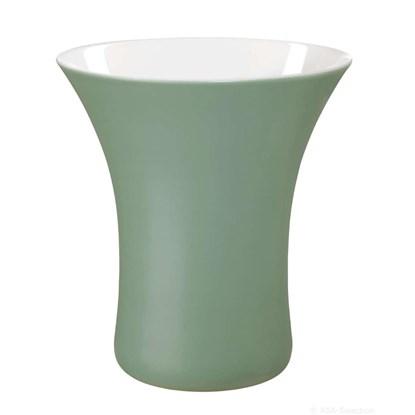 Váza VASO 22 cm šedozelená_0