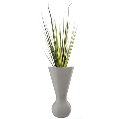 Váza MATCH 40 cm šedá_0