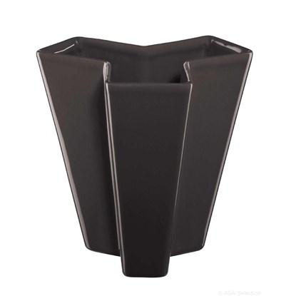 Váza ASA TRIKULA 18 cm antracitová_0