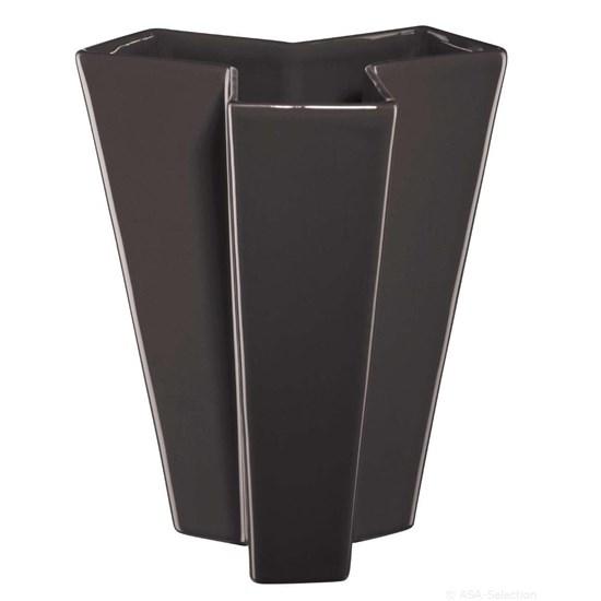 Váza ASA TRIKULA 26 cm antracitová_0