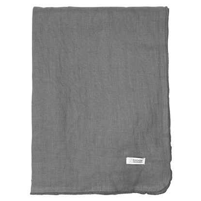 Ubrus GRACIE 160x200 cm tmavě šedý_0