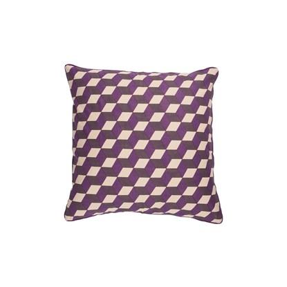 Povlak na polštář 3D fialový_0