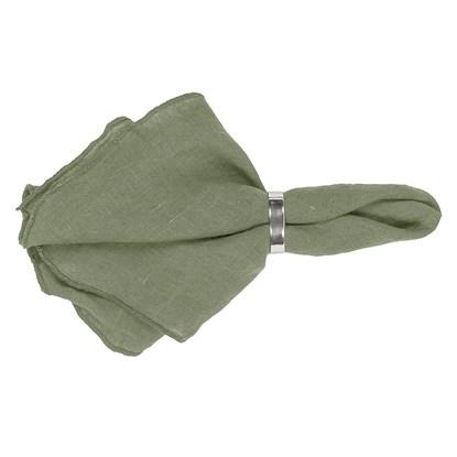 Ubrousek GRACIE 45x45 cm zelenošedý_0
