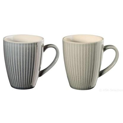 Šálek na čaj LINEA SET/4ks 2 druhy_0