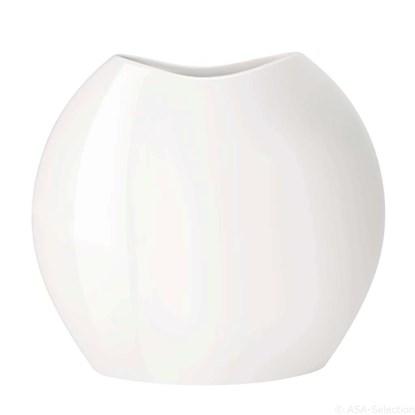 Váza MOON 15 cm bílá_0