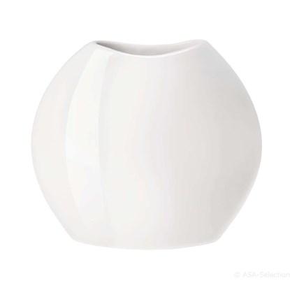 Váza MOON 34,5 cm bílá_0