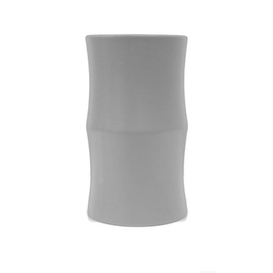 Váza BAMBOO 24 cm šedá matná_1