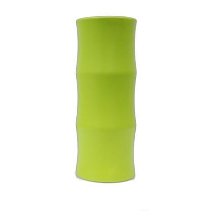 Váza BAMBOO 36 cm lime matná_1