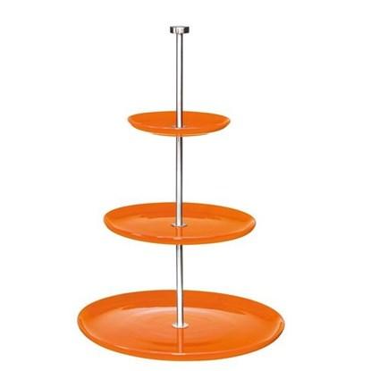 Etažér 3-patrový COLOUR IT - oranžový_0