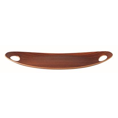 Podnos dřevěný oválný_0