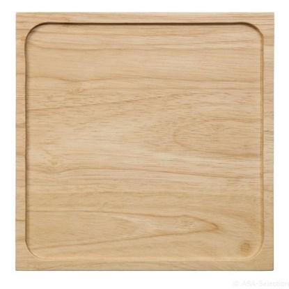 Dřevěný podnos BLACKTEA 25 x 25 cm_0