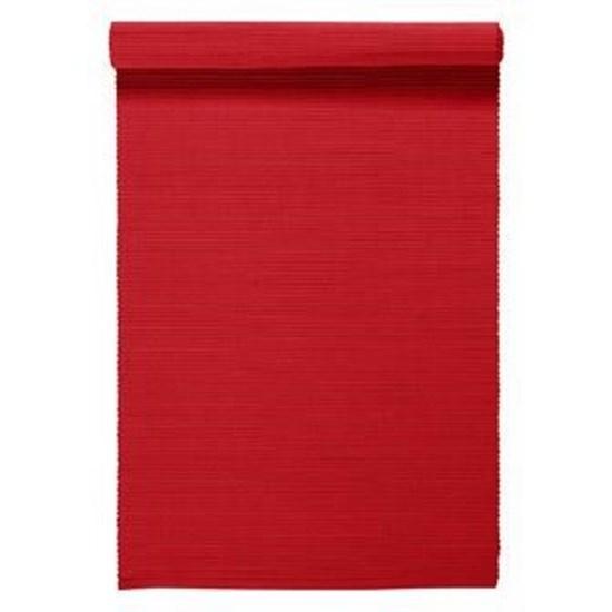 Středový pás 45x150 UNI - červená_0