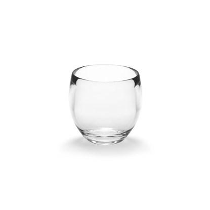 Pohárek na vodu DROPLET 10x9x9 cm čirý_0