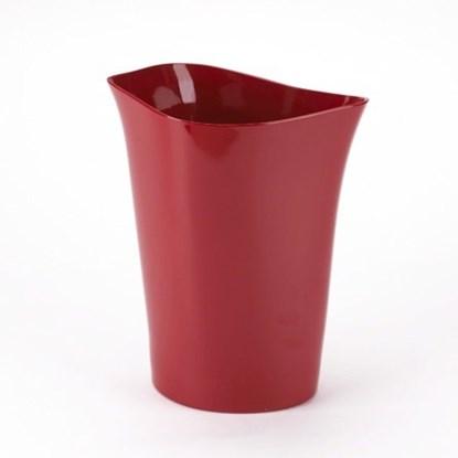 Odpadkový koš ORVINO 19x22x28 cm červený_0