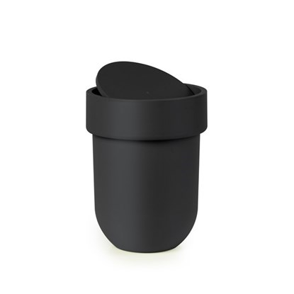 Odpadkový koš s víkem TOUCH černý_0