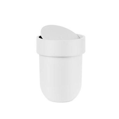 Odpadkový koš s víkem TOUCH bílý_0