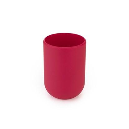 Pohárek na vodu TOUCH 7x7x10 cm červený_0