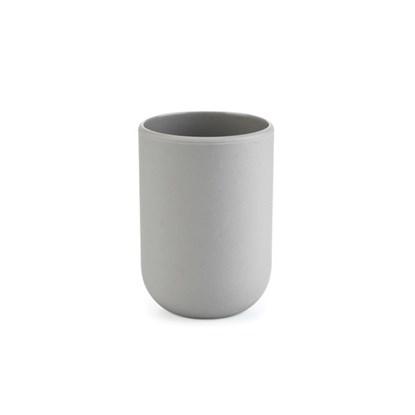 Pohárek na vodu TOUCH 7x7x10 cm šedý_0