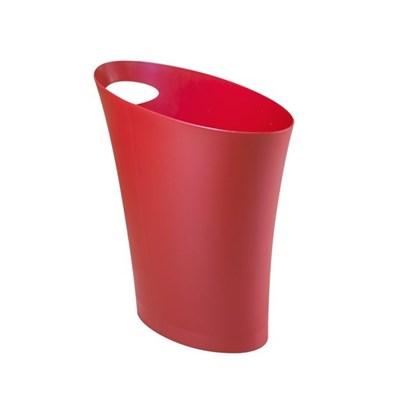Odpadkový koš SKINNY 7,5 l červený_0