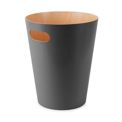 Odpadkový koš WOODROW 28 cm tm.šedá_0