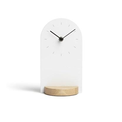 Stolní hodiny SOMETIME bílá/přírodní_2