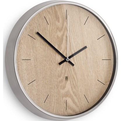 Nástěnné hodiny MADERA přírodní_1