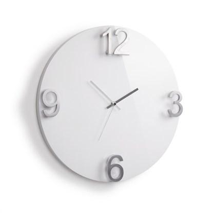 Nástěnné hodiny ELAPSE bílé_0