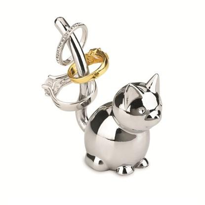 Šperkovnice ZOOLA CAT 7x3x7 cm chromová_0